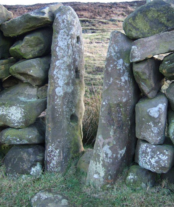 Stone sheep creep built into wall in Raisdale - copyright Ami Walker, NYMNPA