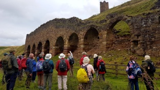 PLACE Guided Walk to Rosedale Kilns, August 2017. Copyright TELoI.