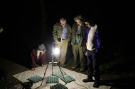 Grosmont Bioblitz 2017 - surveying for moths. Copyright TELoI.