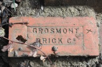 Grosmont brick. Copyright TELoI.