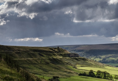 Rosedale, Big Sky Over East Mines. Copyright Paddy Chambers.