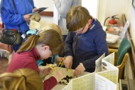 Rosedale History Weekend April 2017 - owl pellets are fascinating. Copyright TELoI.