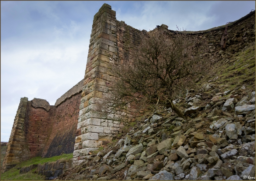 Rosedale Iron Kilns up close. Copyright Paddy Chambers.