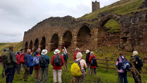 TELoI Guided Walk at East Kiln,Rosedale - for PLACE. Copyright NYMNPA.