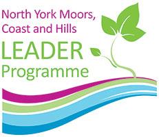 North York Moors, Coast and Hills LEADER Programme logo