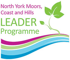 North York Moors, Coast and Hills LEADER Programme logo