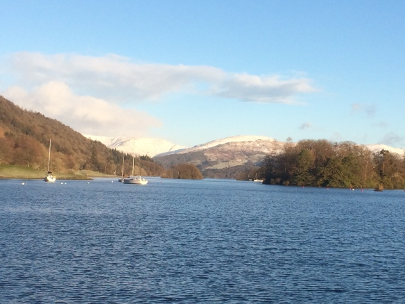 View looking north over Lake Windermere. Copyright FBA.