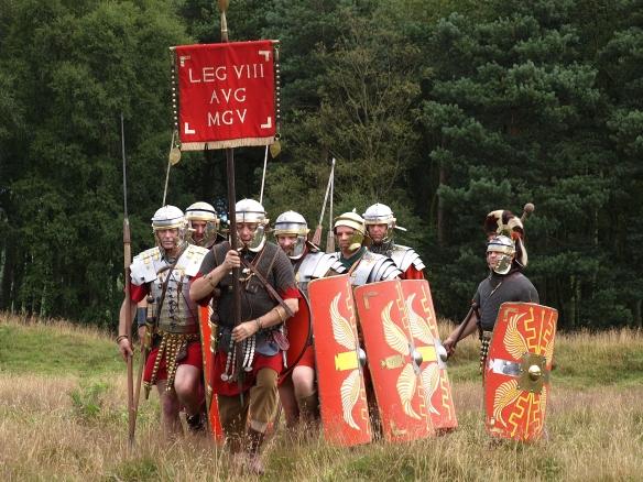 Romans at Cawthorn, 2010. Copyright NYMNPA.