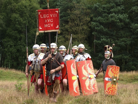 Romans at Cawthorn, 2010. Copyright NYMNPA.