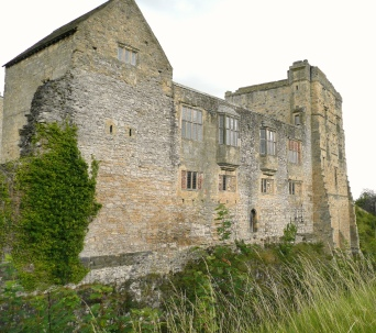 Back view of Helmsley Castle - copyright Shannon Fraser, NYMNPA.