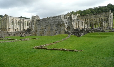 Section of Rievaulx Abbey - copyright Shannon Fraser, NYMNPA.