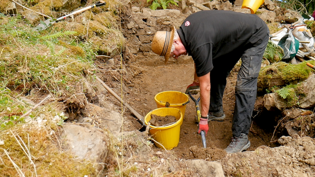 Combs Wood excavation July 2018. Copyright NYMNPA.