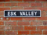 Esk Valley sign, copyright NYMNPA.