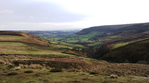 Landscape view - looking south from Farndale. Copyright NYMNPA.