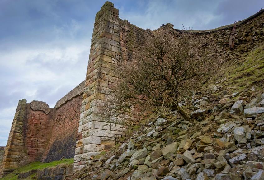 Rosedale Iron Kilns up close, copyright Paddy Chambers.