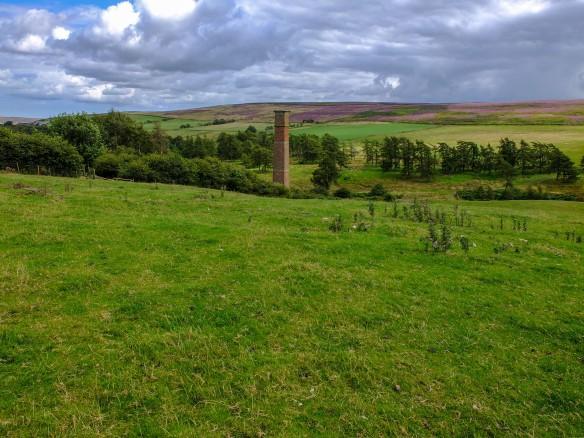 A view of Warren Moor Mine today, Copyright NYMNPA.