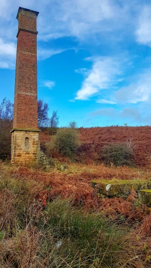 Warren Moor Mine late Autumn. Copyright NYMNPA.