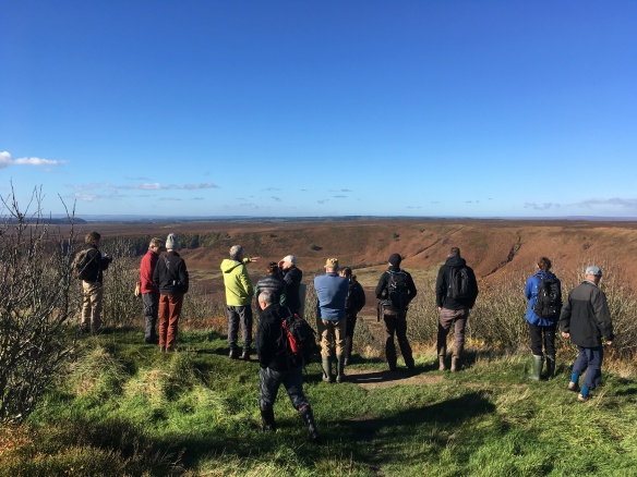 Hole of Horcum, TWOG visit Oct 2018. Copyright NYMNPA.