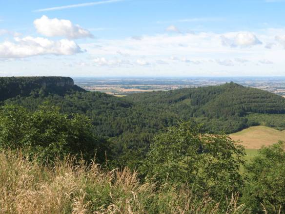 The Devil's Leap: from Roulston Scar to Hood Hill. Copyright NYMNPA.
