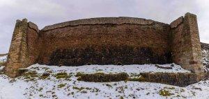 Rosedale Iron Kilns, front panorama. Copyright NYMNPA.