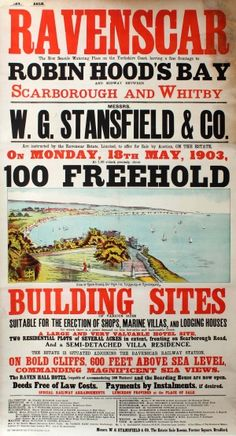Image of an 1903 Auction Poster