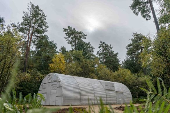 Rachel Whiteread's Nissen Hut (2018) copyright Ben Thomas, Forestry Commission. From www.theartnewspaper.com