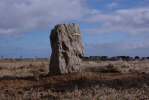 Wades Stone, after work. Copyright Tees Archaeology.