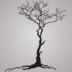 Root tree - shmector.com - Free vector art
