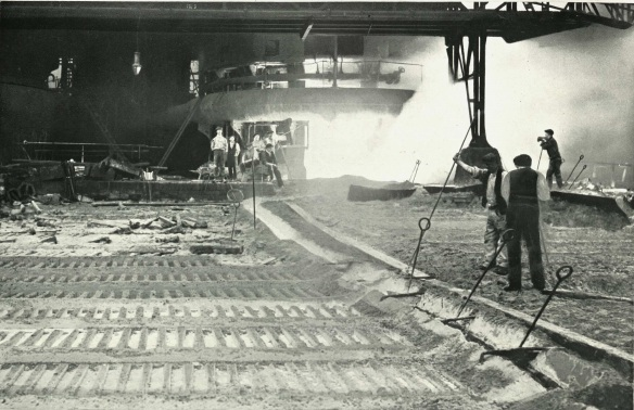 Production of Pig Iron. Copyright Kirkleatham Museum.
