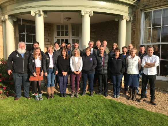 Attendees at the Farm Liaison Officers Group Meeting October 2020. Copyright NYMNPA.