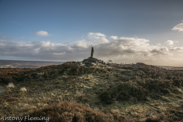 Scheduled Monument - Cock Howe round barrow. Photo Credit Anthony Fleming.