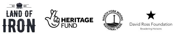 Land of Iron Landscape Partnership Scheme logos