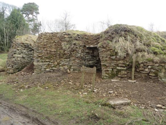 Old Byland roadside lime kilns (HER 2680). Copyright NYMNPA.