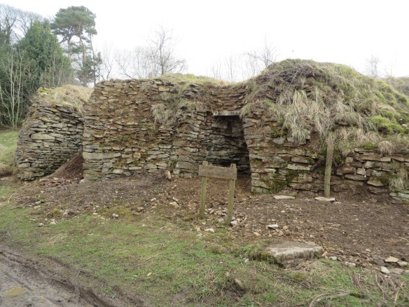 Old Byland roadside lime kilns (HER 2680). Copyright NYMNPA.
