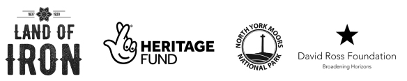 Land of Iron Landscape Partnership Scheme logo banner