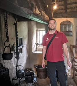 Chris in his natural habitat - Ryedale Folk Museum, Hutton le Hole.