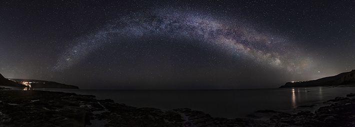 Milky Way over Ravenscar by Steve Bell