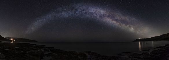 Milky Way over Ravenscar by Steve Bell