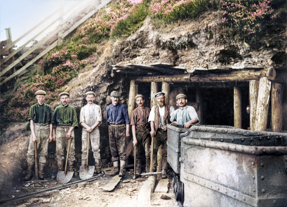 Photograph by Thomas Smith, courtesy Beck Isle Museum. Photo colourised by: Photo Restoration Services.