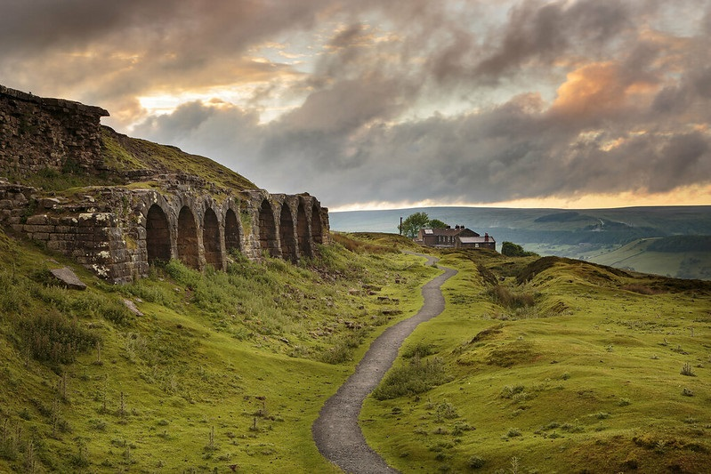 Rosedale Bank Top in the North York Moors National Park Credit Ebor Images/NYMNPA