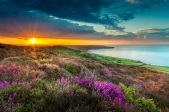 Coastal view towards Robin Hood's Bay in the North York Moors National Park Credit Ebor Images/NYMNPA