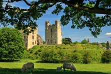 Hemlsley Castle in the North York Moors National Park Credit Ebor Images/NYMNPA