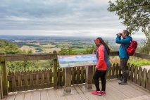 The finest view in England at Sutton Bank Credit VBI