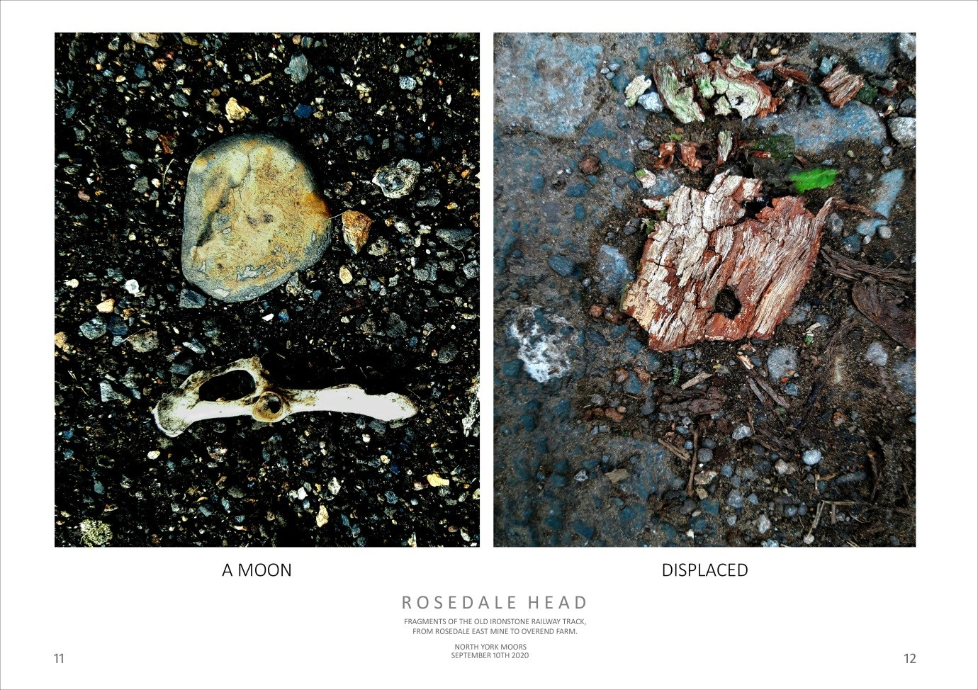 ROSEDALE HEAD - A MOON, DISPLACED